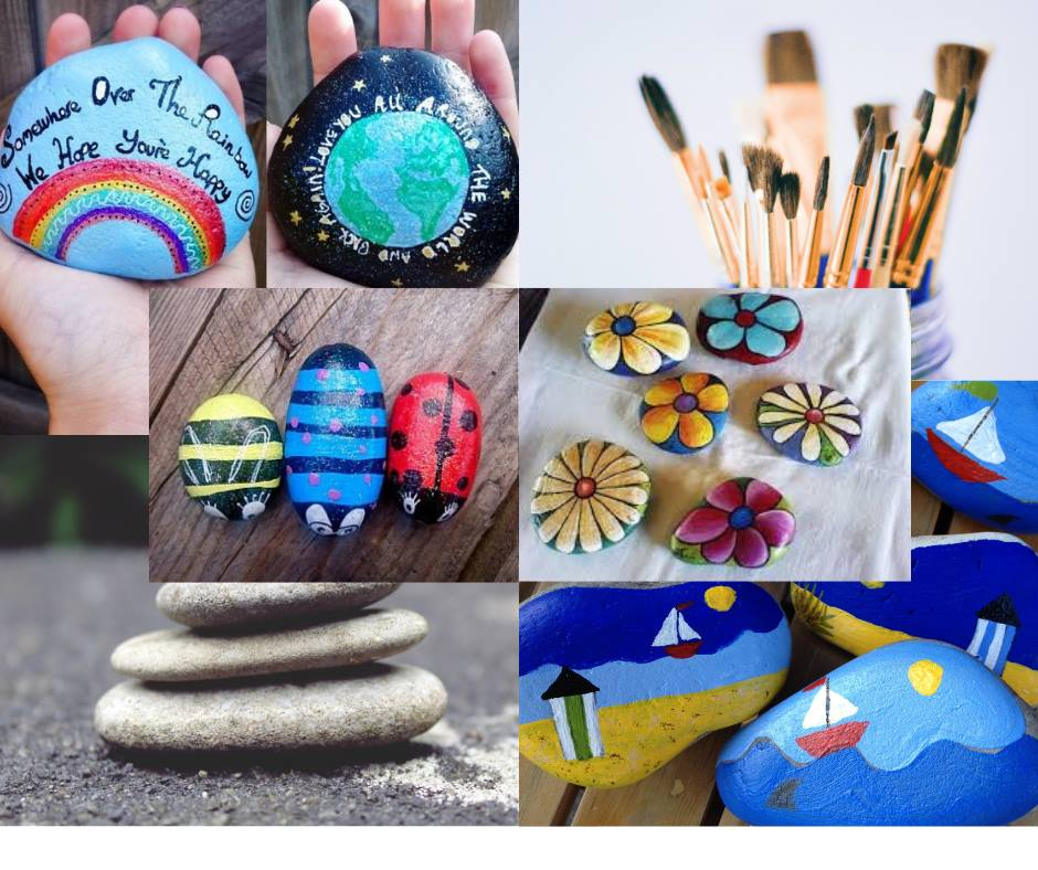 Mother's day paperweight pebbles competition!