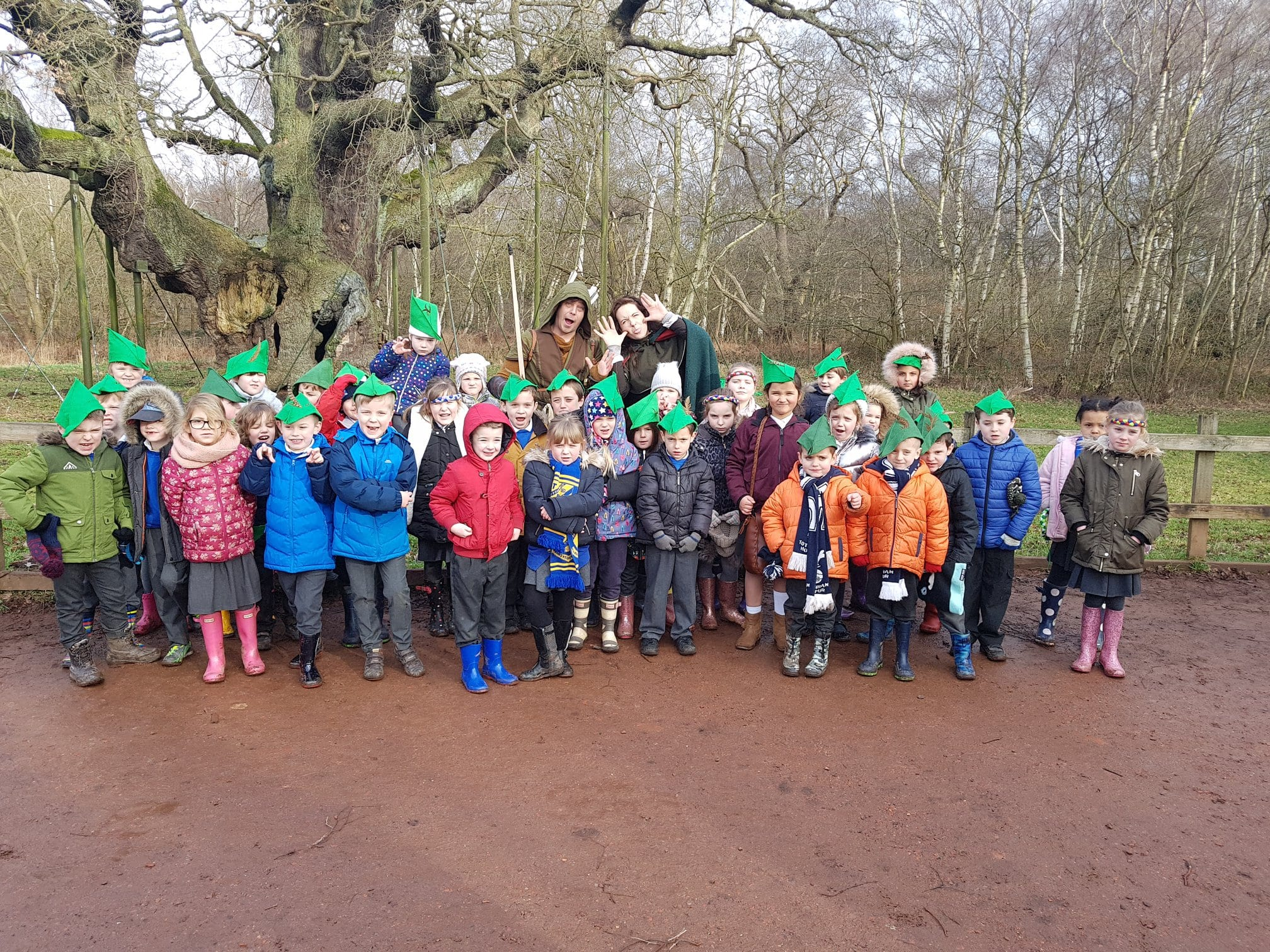 Year 2's Sherwood adventure