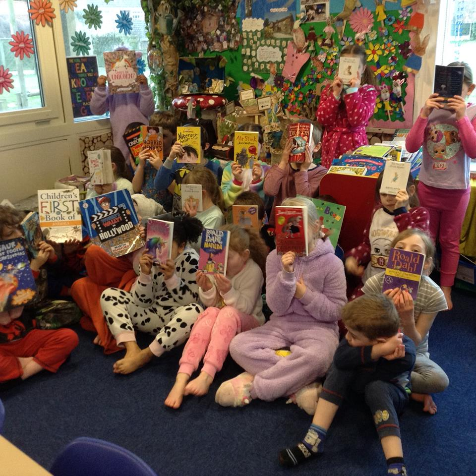 Our children celebrate World Book Day