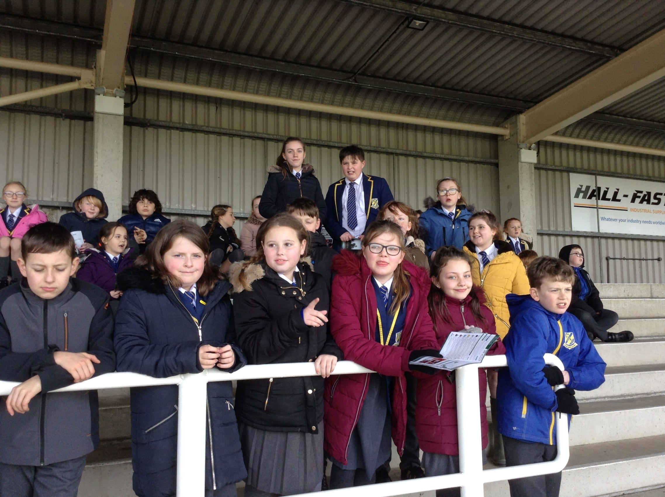 Year 6 race to learn maths at Southwell racecourse